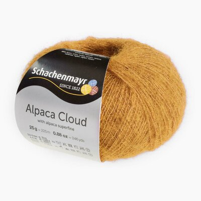 Knitting Yarn - Alpaca Cloud - Gold 00022