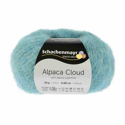 Knitting Yarn - Alpaca Cloud - Mint 00065
