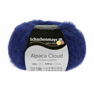 Knitting Yarn - Alpaca Cloud - Royal 00056