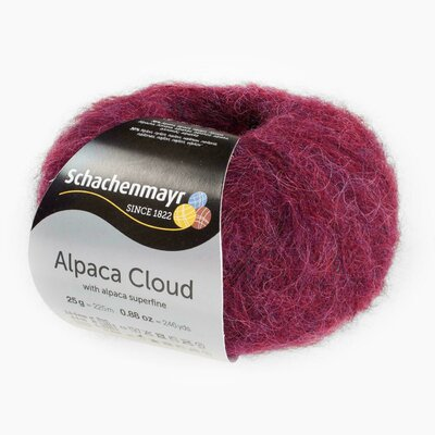 Knitting Yarn - Alpaca Cloud - Wine 00031