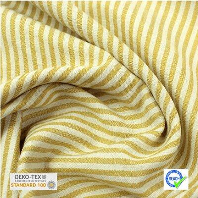 Lightweight Cotton Viscose - Raytis Jaune