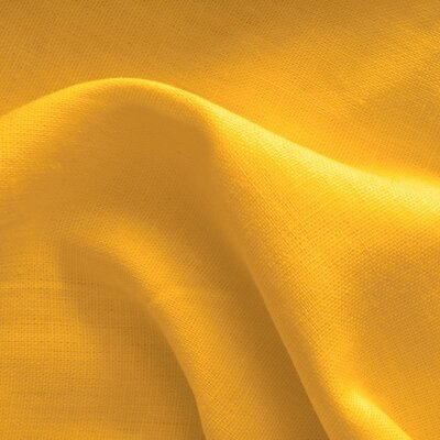 100% Premium Linen -  Yellow