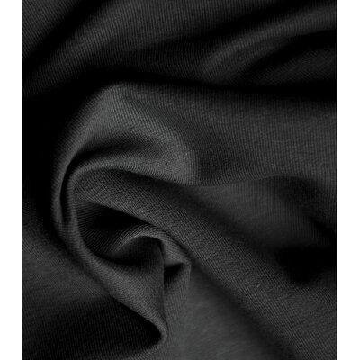 Organic Cotton Jersey - Deep Black