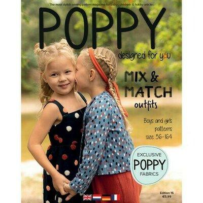 Pattern magazine - Poppy nr 16