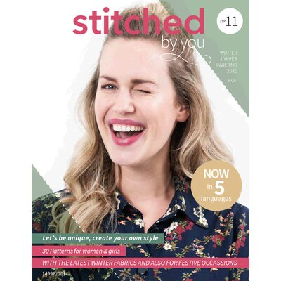 Pattern magazine - Stitched By you nr 11