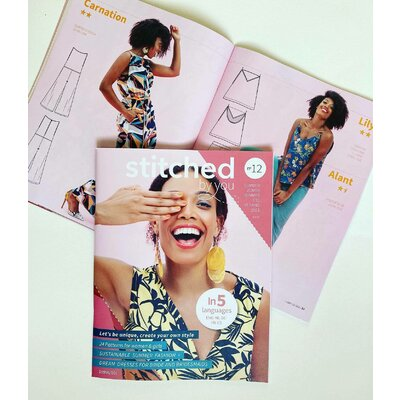 Pattern magazine - Stitched By you nr 12