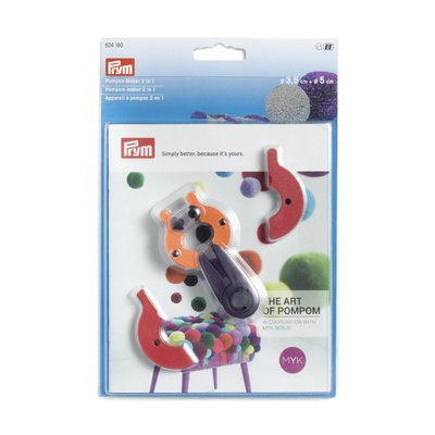 Pompom maker set 2 in 1