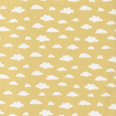 Printed Cotton - Ciel Yellow