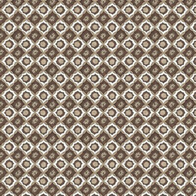 Printed Cotton -Javanese Style Brown