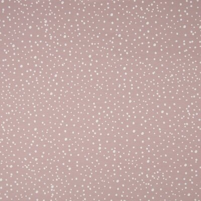 Printed Cotton Jersey - Dots Dusty Rose