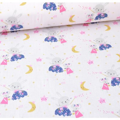 Printed Cotton - Lafee Rose