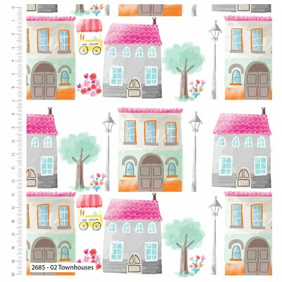 Printed Cotton - Townhouse