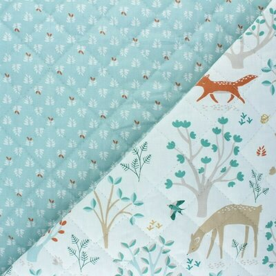 Doublesided Quilted Cotton - Jolibois