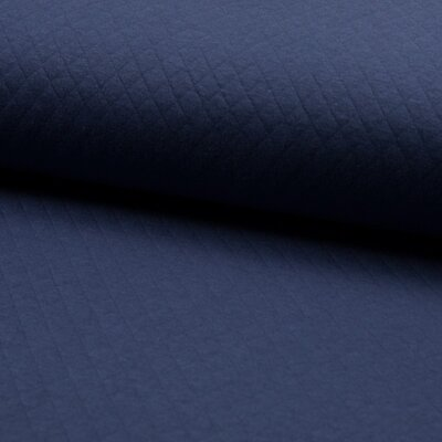 Quilted Jersey Cotton Diamond - Jeans