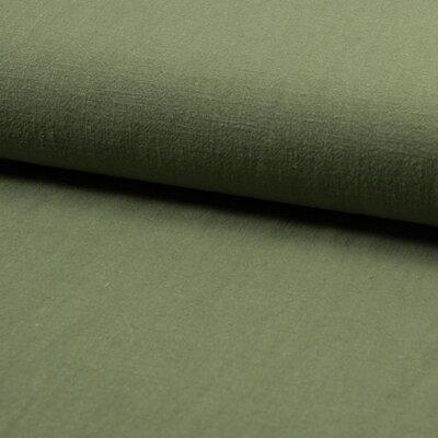 Stonewashed linen - Khaki