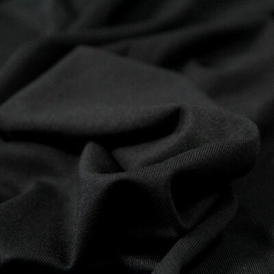Tencel Modal Jersey Black