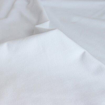 Tencel Modal Jersey White