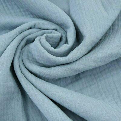 Triple gauze Muslin 185 gr/mp - Light Blue