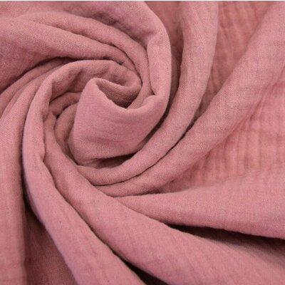 Triple gauze Muslin 185 gr/mp - Old Rose