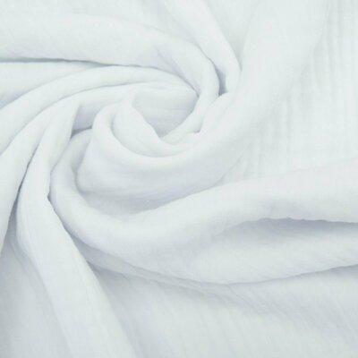 Triple gauze Muslin 185 gr/mp - White