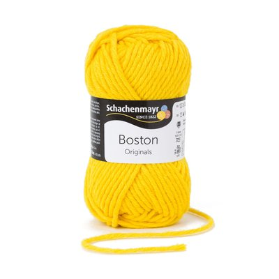 Wool blend yarn Boston-Maize 00123