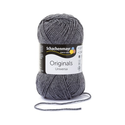 Wool blend yarn Universa - Grey Heather 00197