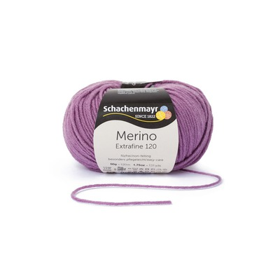 Wool Yarn - Merino Extrafine 120 Plum 00146