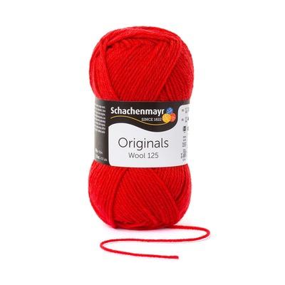 Wool Yarn - Wool125 - Cherry 00131
