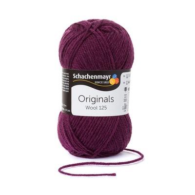 Wool Yarn - Wool125 - Plum 00144
