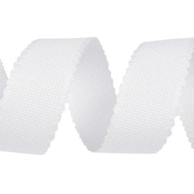 Banda pentru brodat alba - latime 5 cm
