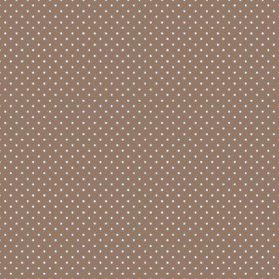 Bumbac imprimat - Petit Dots Taupe