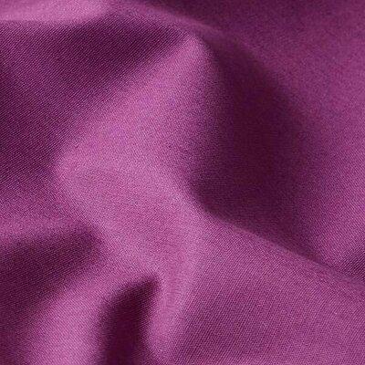Poplin bumbac uni - Dark Purple