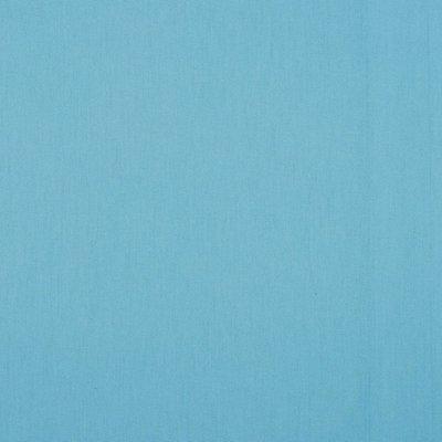 Poplin bumbac uni - Sky Blue
