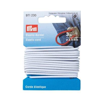 Elastic snur alb pentru masti - pachet 3 m
