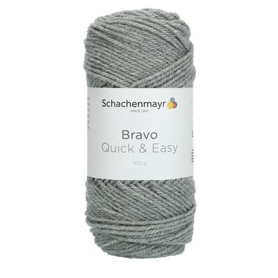 Fir acril Bravo Quick & Easy - Medium Grey 08295