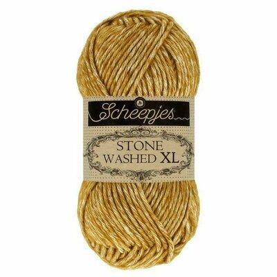 Fir bumbac melanj Stone Washed XL - Enstatite 872