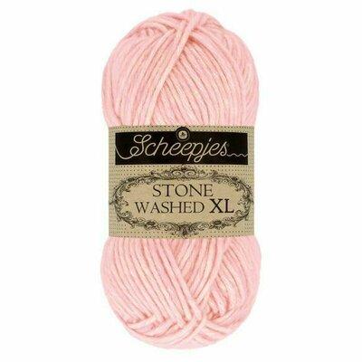 Fir bumbac melanj Stone Washed XL - Rose Quartz 860