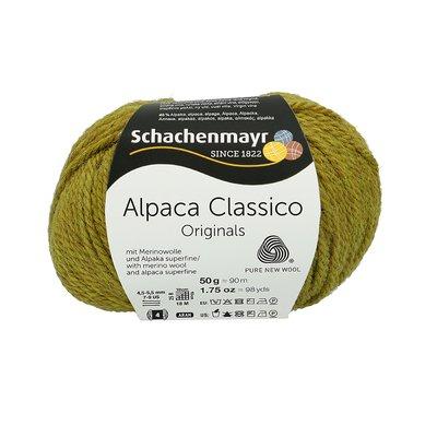 Fir de tricotat Alpaca Classico - Apple Green 00070