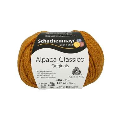 Fir de tricotat Alpaca Classico - Gold 00022
