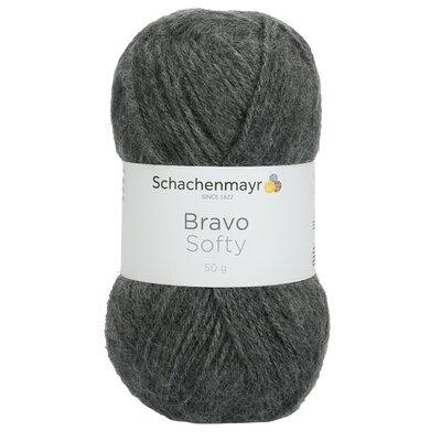 Fire acril Bravo Softy - Grey Heather 08319