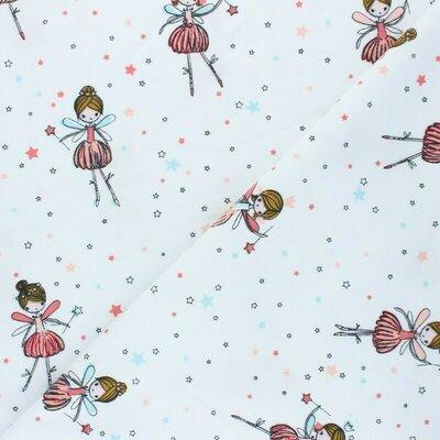 Jerse Bumbac - Dancing Ballerina White