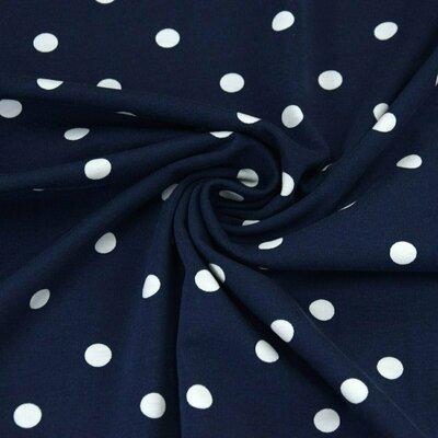 Jerse bumbac - Dots Navy