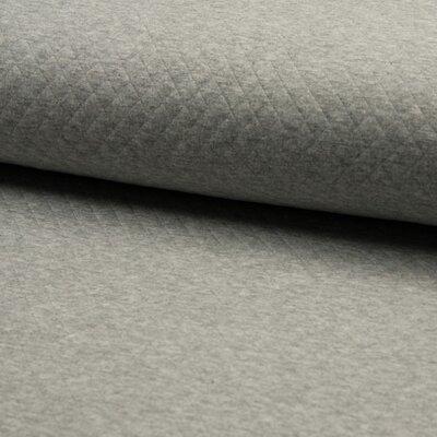 Jerse Cotton Diamond - Mid Grey Melange