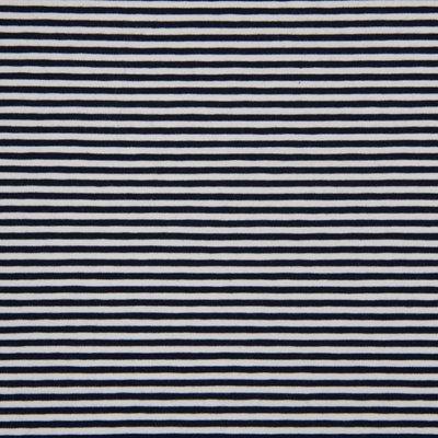 Jerse de bumbac - Stripes Navy 0.3 cm