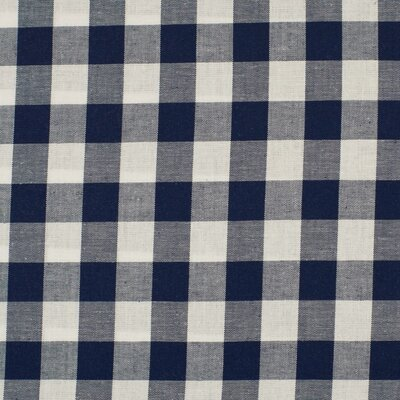 Material bumbac - Gingham Navy 20mm
