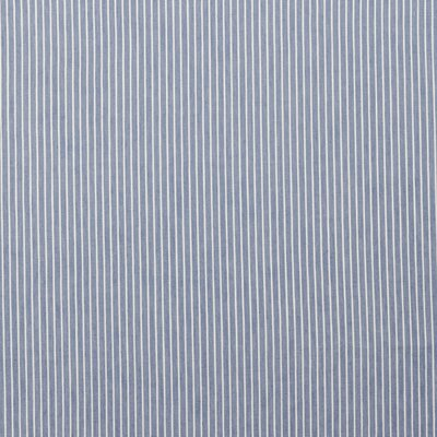 Material bumbac - Jeans Stripe Light Blue