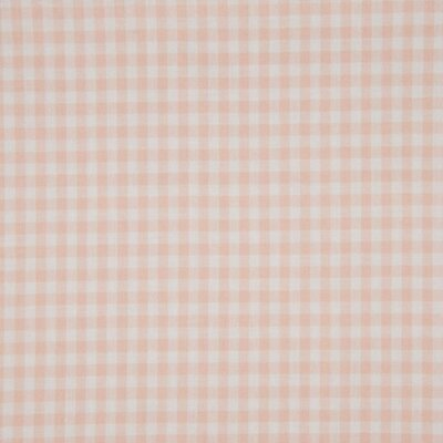 Material bumbac - Small Gingham Salmon 5mm
