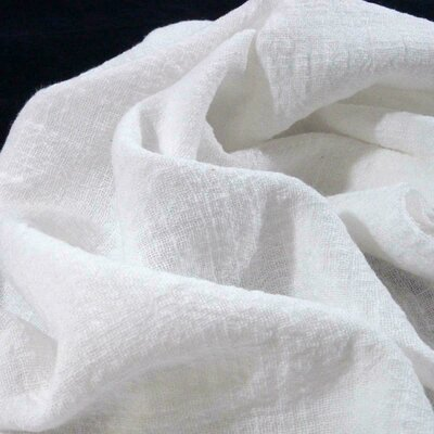 Material din bumbac tesut si prespalat - Ivory