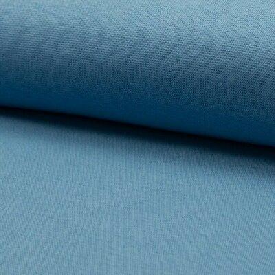 Material tubular Rib pentru mansete - Dusty Blue