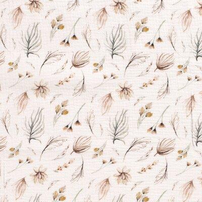 Muselina imprimata digital - Delicate Floral